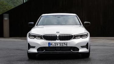 BMW 3 Series - full front static