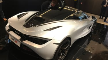 McLaren 720S Geneva - rear