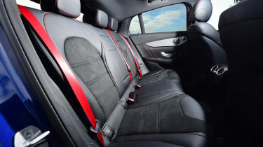 Mercedes-AMG GLC 43 Coupe - rear seats