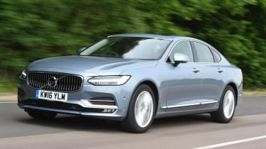 Volvo S90 - front