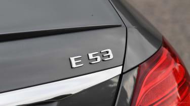Mercedes-AMG E 53 - E 53 badge