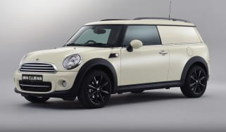 MINI Clubvan front three-quarters