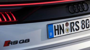 Audi RS Q8 - rear badge