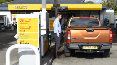 Nissan Navara long-term - third report fuel