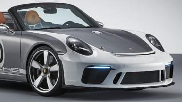 New Porsche 911 Speedster Concept - grille