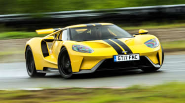 Ford GT Norway road trip - drifting