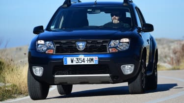 Dacia Duster facelift - front cornering
