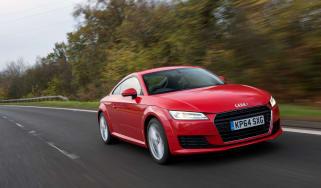 Audi TT Ultra - front