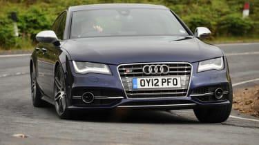 Audi S7 front cornering