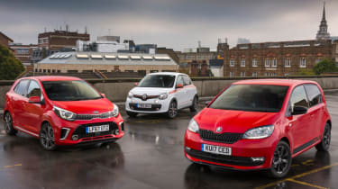 Triple test –Renault Twingo - group footer