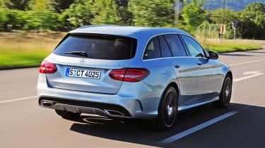 Mercedes C250 BlueTEC Estate AMG Line rear