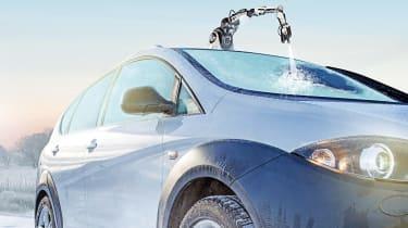 Tech or Trick April Fools: robot de-icer