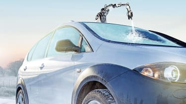 Tech or Trick April Fools: robot de-icer