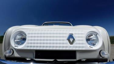 Renault 4 Plein Air beach car - grille