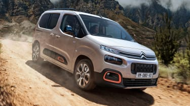 New Citroen Berlingo - front