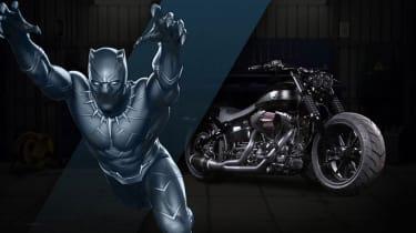 Harley Davidson Marvel Super Hero Customs - Black Panther Ferocious