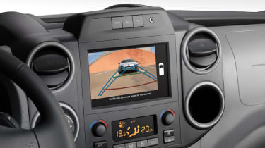 Citroen Berlingo Van 2015 facelift - dash