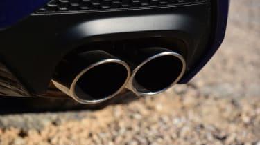 Maserati Ghibli facelift - exhausts