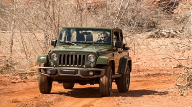 Jeep Wrangler 75th Anniversary - front off-road