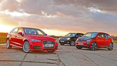 Audi A3 e-tron vs rivals