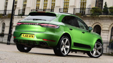 Porsche Macan - rear static
