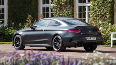 Mercedes-AMG C 63 S Coupe - rear static