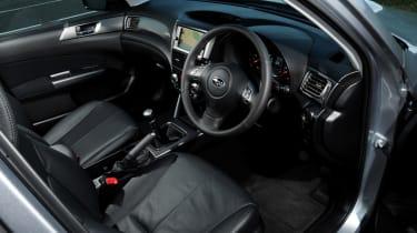 Subaru Forester Diesel dash