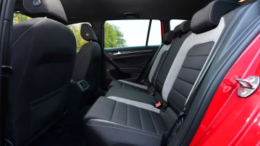 Volkswagen Golf R Estate rear seats
