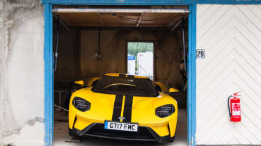 Ford GT Norway road trip - state of the art pits