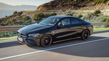 Mercedes CLA - front/side