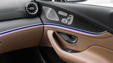 Mercedes-AMG GT 4-Door 2021 facelift blue - speaker