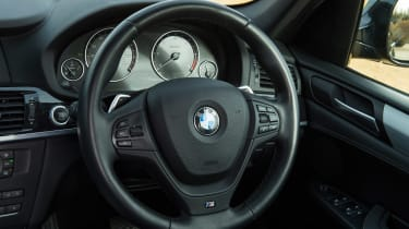 Used BMW X3 - steering wheel