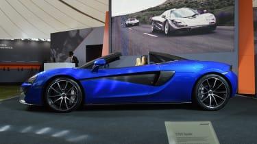 McLaren 570S Spider - Goodwood side