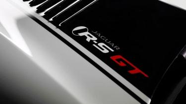 Jaguar XKR-S GT badge