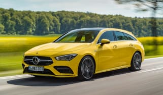Mercedes-AMG CLA 35 Shooting Brake - front