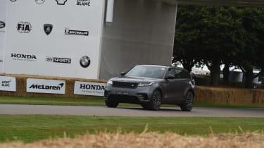 Range Rover Velar ride Goodwood