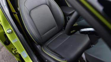 Hyundai Kona Diesel - front seat