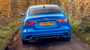 Jaguar XE Reims Edition - full rear
