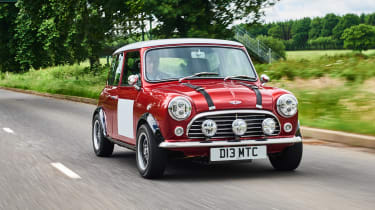 David Brown Mini Remastered - front action