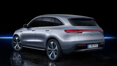 Mercedes EQC - rear studio
