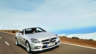 Mercedes SLK 350 front