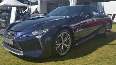 Salon Prive 2016 Lexus LC500h