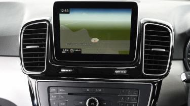 Mercedes GLE 350d - infotainment screen