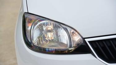 Skoda Citigo - front light detail