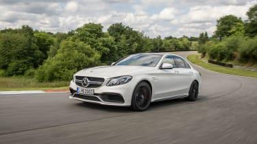 Mercedes-AMG C63 S - action