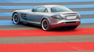 The special edition SLR is lighter, faster and more powerful than the standard model.