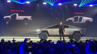 Tesla Cybertruck launch event musk