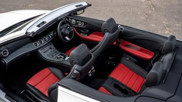 Mercedes E 300 Cabriolet - interior
