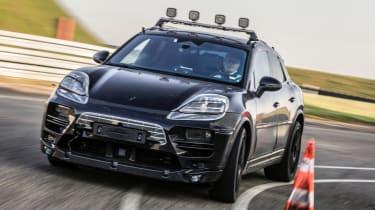 Porsche Macan EV - cornering