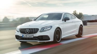 Mercedes-AMG C 63 S - front tracking